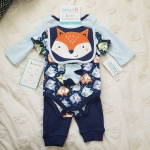 new with tags fox baby set